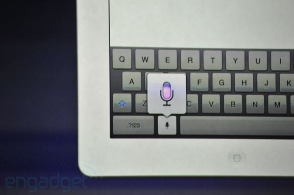 Voice Dictation Announced For New iPad