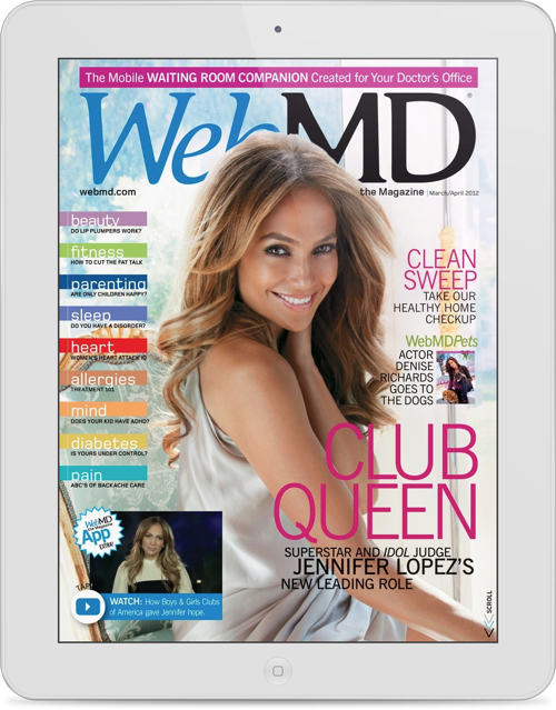 WebMD the Magazine for iPad Arrives, And It's Free