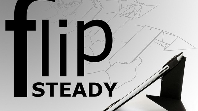 Presenting The FlipSteady For iPad