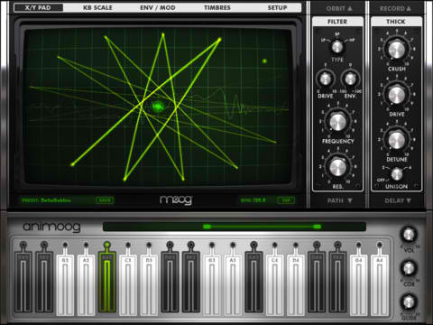 Animoog's iOS-Optimized Synthesizer Is Sure To Be Music To Your Ears