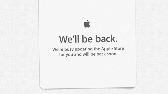 The Sticky Note Is Dead! Long Live The New 'Apple Store Is Down' Graphic!