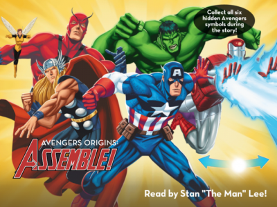 Win A Mysterious Prize When You Collect All Hidden Symbols In Avengers Origins: Assemble!