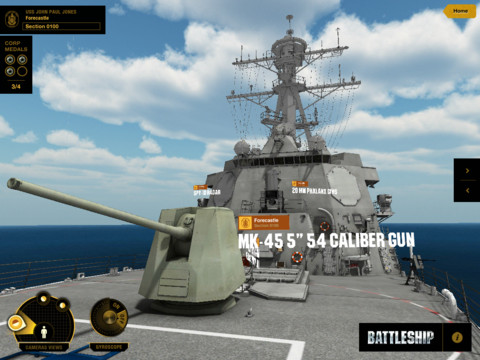 Battleship: Destroyer Experience Released As Companion App For Upcoming Movie