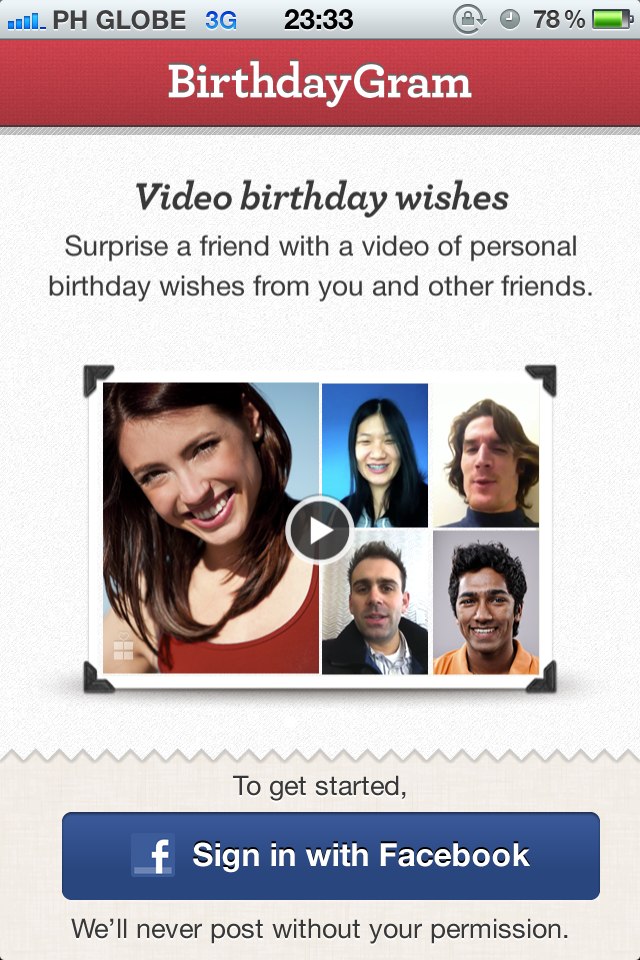 BirthdayGram Adds More Personality To Your Facebook Birthday Greetings