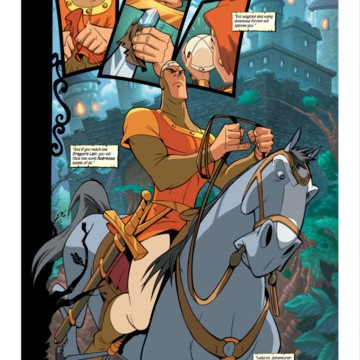 Become A Valiant Knight Or A Damsel In Distress While Reading Dragon's Lair Comics