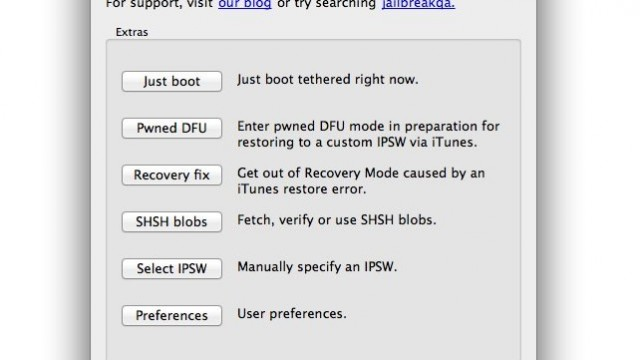 Jailbreak Only: Redsn0w Updated - Improves Support For OS X 10.5 And Earlier