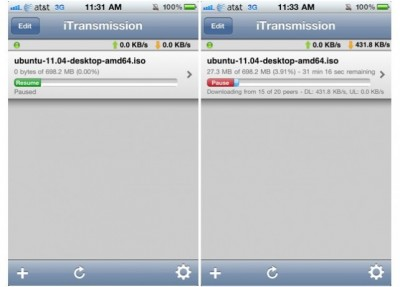 Jailbreak Only: iTransmission Updated - Available In The Cydia Store For Free