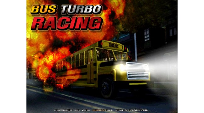 Bus Turbo Racing For iPad: A New 3-D Bus Racing Game