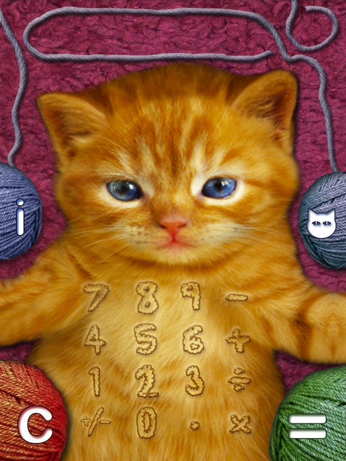 Quirky App Of The Day: Kitten Calculator