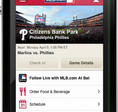 MLB.com At The Ballpark Lets You Check In And Order Food At Your Favorite Stadium
