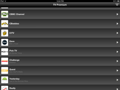 TV English Premium Brings Television To Your iPad