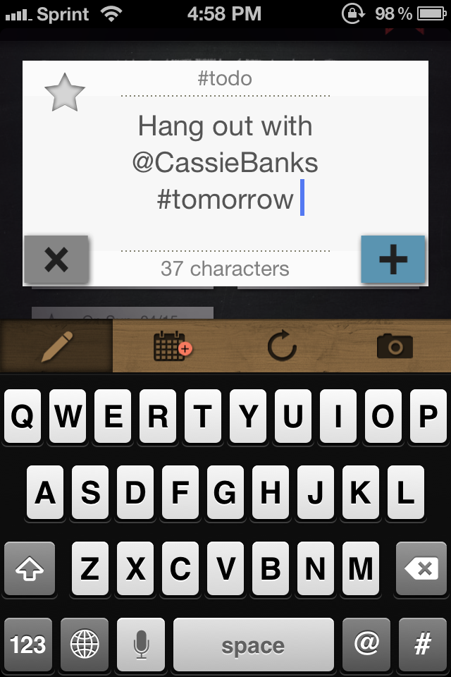 #todo Is Another Way To Look At Your Task List