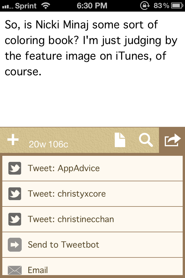 Drafts Is A Must-Have For Anyone Looking To Quickly Get Thoughts Down On Their iPhone