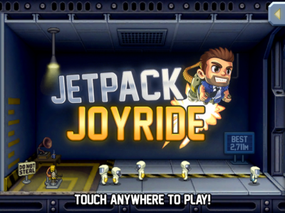 Finally, You Can Now Enjoy Playing Jetpack Joyride With Retina Graphics On Your New iPad