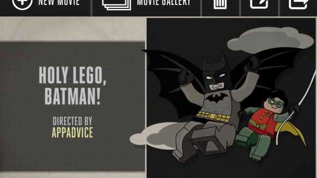 Lego Super Hero Movie Maker Puts You On The Director's Chair