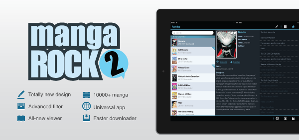 Manga Rock 2: The Ultimate Manga Reading Tool Is Now Even Better