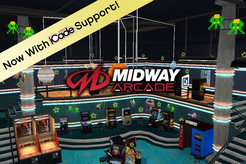 Midway Arcade Finally Receives iCade Support
