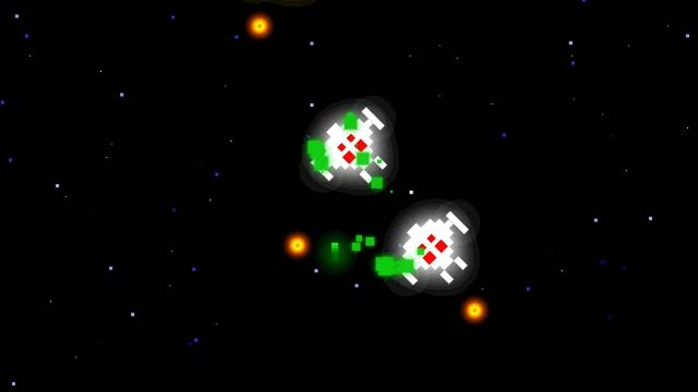 Space Retro Is A Generic Top-Down Shooter