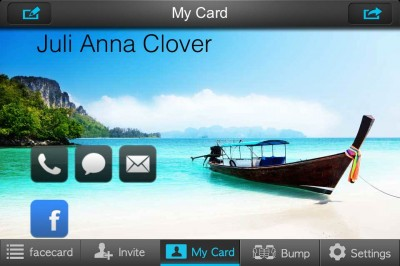 Create A Digital Contact Card With My Facecard And Enter Our Giveaway