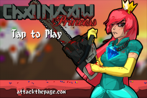 Chainsaw Princess by Brendan Hutchinson screenshot