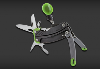 Gerber 'Steady' Multitool Packs An iPhone Mount Along For The Hike