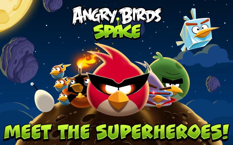 Angry Birds Space: 50 Million Downloads In 35 Days