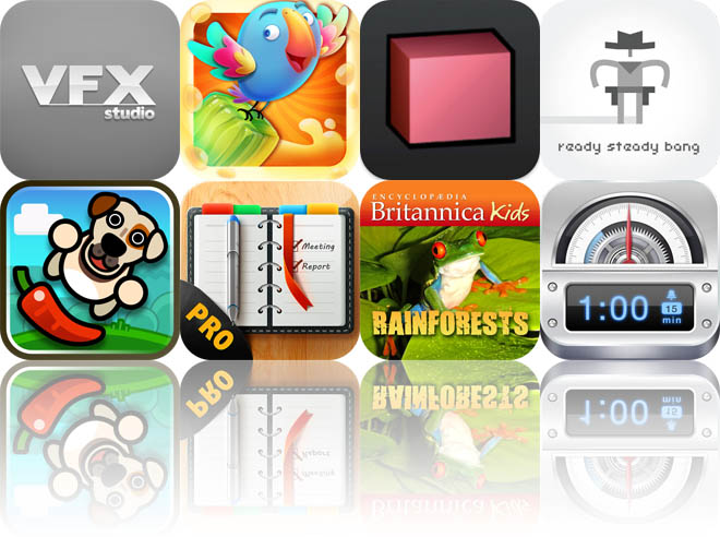 Today's Apps Gone Free: VFX Studio, Blockolicious HD, Save The Cubes, And More