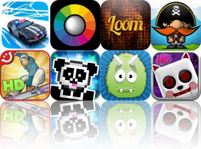 Today's Apps Gone Free: Smash Cops, iColorama, Loom Photomosaic Builder, And More
