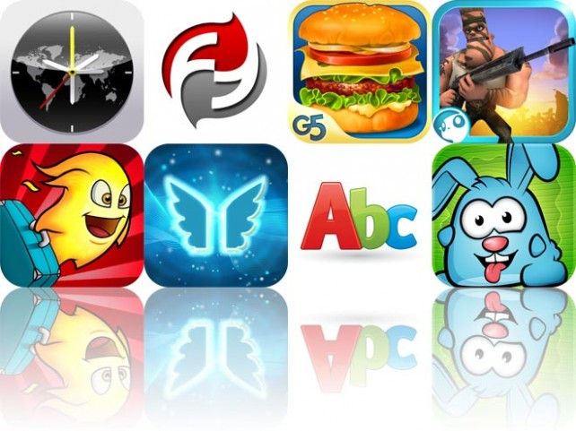 Today's Apps Gone Free: Timezone Clock, FoodFeats, Success Story, And More