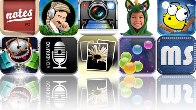 Today's Apps Gone Free: Pad & Quill, AmbiScience Lullaby, DMD Panorama, And More