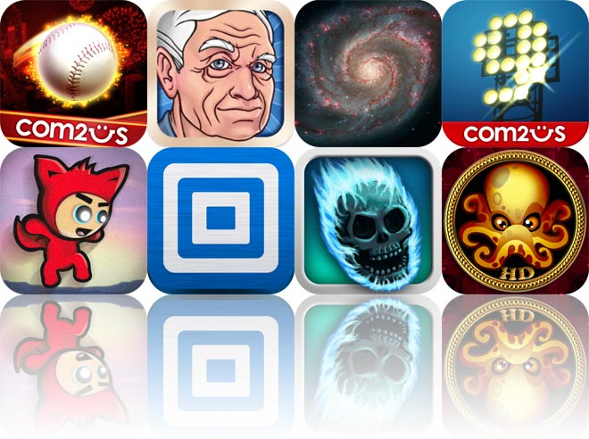 Today's Apps Gone Free: Homerun Battle 3D, Oldify, StarMap 3D Plus, And More
