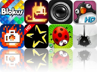 Today's Apps Gone Free: Blokus, Pix'n Love Rush, Lo-Mob, And More