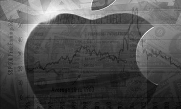 Apple's Market Cap Briefly Touches $600 Billion