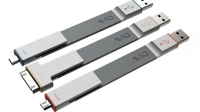 AViiQ Releases Tangle-Free Charge And Sync Cables