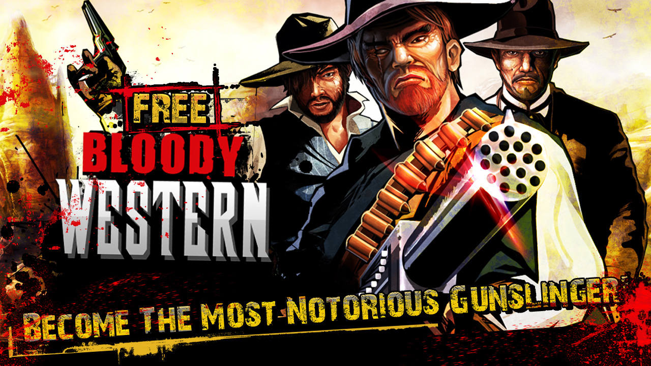 We're Celebrating The Release Of Bloody Western By Giving Away An iPod Touch And Other Goodies