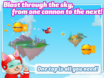 Cannon Cat Launching Soon From Its Barrel Cannon And Into The App Store