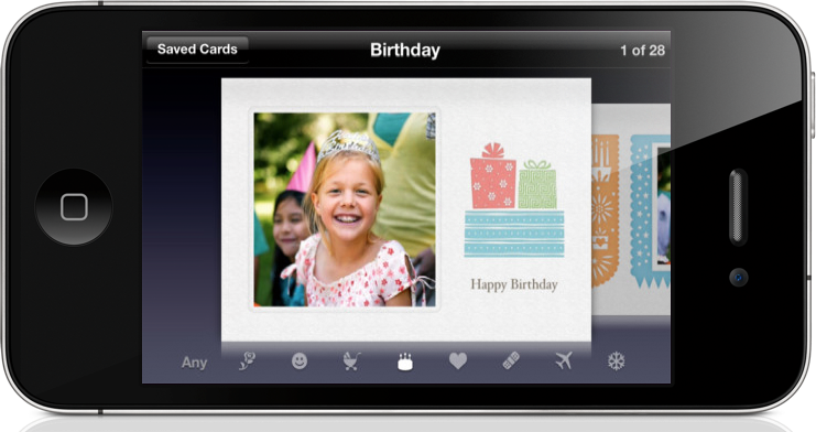 Apple's Cards App Gets Mother's Day Update