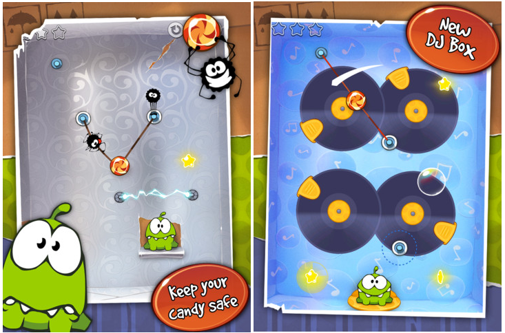 Cut The Rope Gets An Update