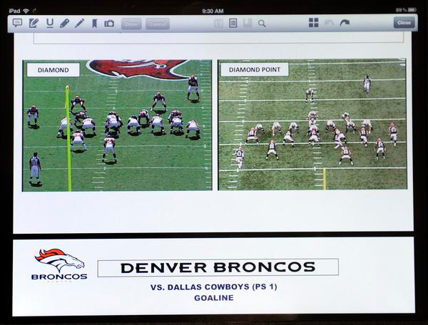 Denver Broncos Look To iPad Playbooks For Digital Advantage
