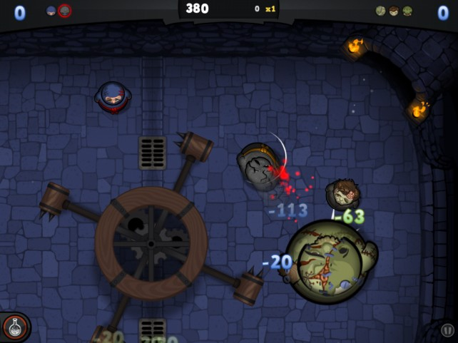 Kihon Games Announces Their Second iOS Title, Dojo Danger, Coming Later 2012