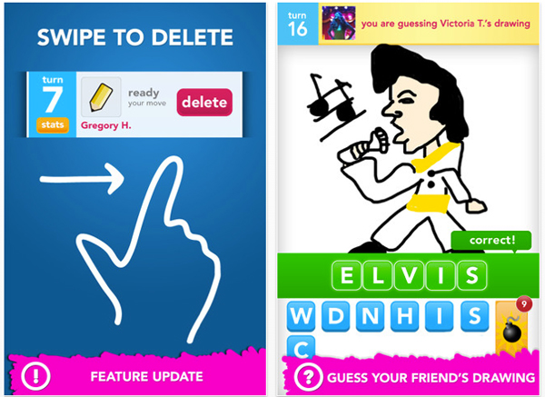 Draw Something Updates With Set Of Five New Features