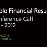 Apple Planning To Webcast Second-Quarter Earnings Call Tuesday