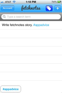 Fetchnotes Brings Together Hashtags And Your To-Do List