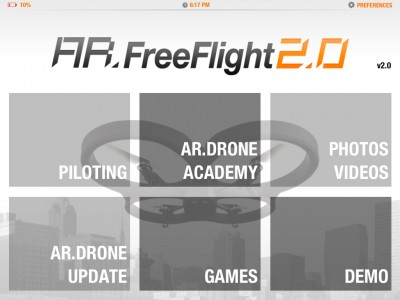 Featuring A New HUD And Media Capabilities, AR.FreeFlight v2.0 Is Now Available