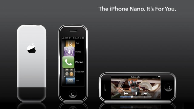 Why An 'iPhone nano' Just Won't Fly