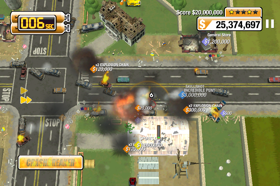 Wreak Total Havoc In Burnout Crash