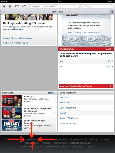 ESPN's Once-Great iPad Website Is Worse Than LeBron In