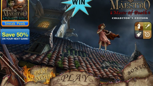 A Chance To Win The Full Version Of Maestro: Music Of Death Collector's Edition HD For iPad
