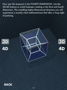 Fourth-Dimensional Tesseract Concept Dissected And Discussed In Heady New App