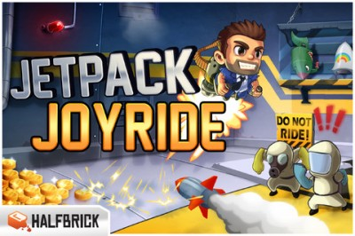 Jetpack Joyride v1.3 Finally Flies Into The App Store